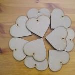Hearts 100mm x10 (H7)