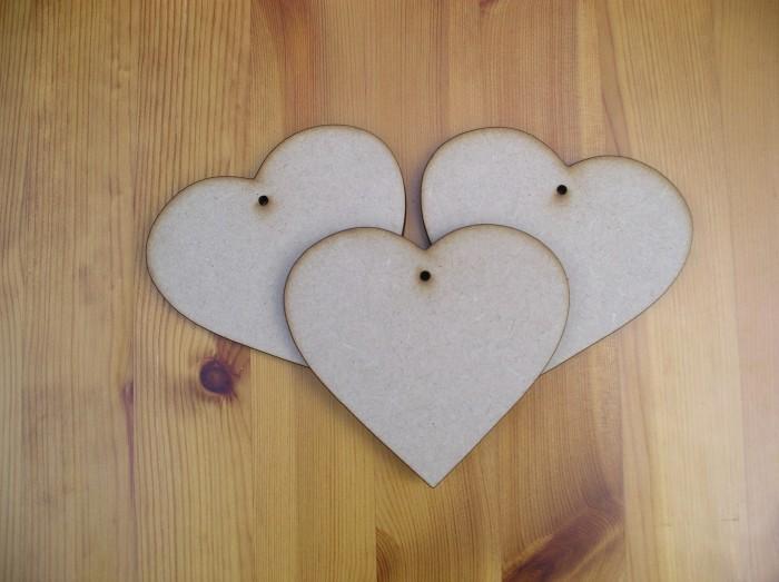 Hearts 100mm x3 (H5)