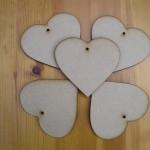 Hearts 100mm x5 (H6)