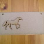 (P3) Horse Plaque