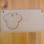 (P7) Minnie Mouse Plaque
