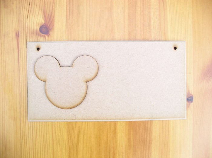 (P6) Mickey Mouse Plaque