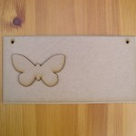 (P2) Butterfly Plaque