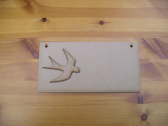 (P10) Swallow Plaque