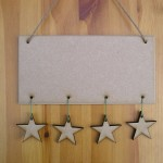 (HP15) Hanging 4 Stars Plaque