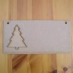 (C12) Christmas Tree Plaque