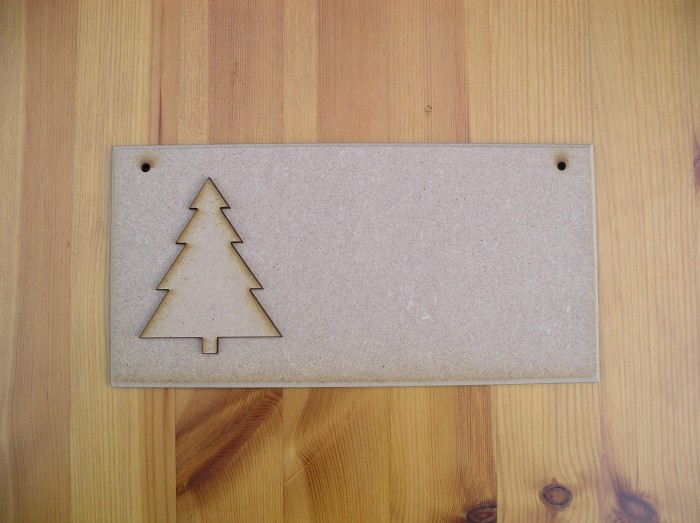 (C12) Christmas Tree Plaque