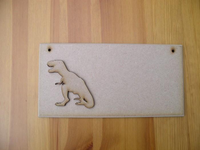 (P13) Dinosaur Plaque