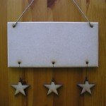 (HP14) Hanging 3 Stars Plaque