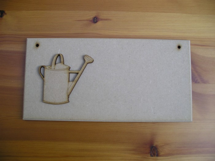 (P16) Watering Can Plaque