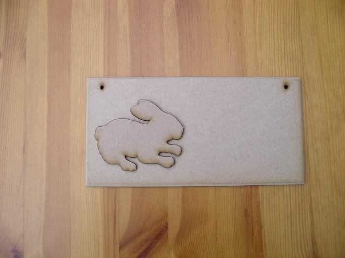 (P18) Rabbit Plaque