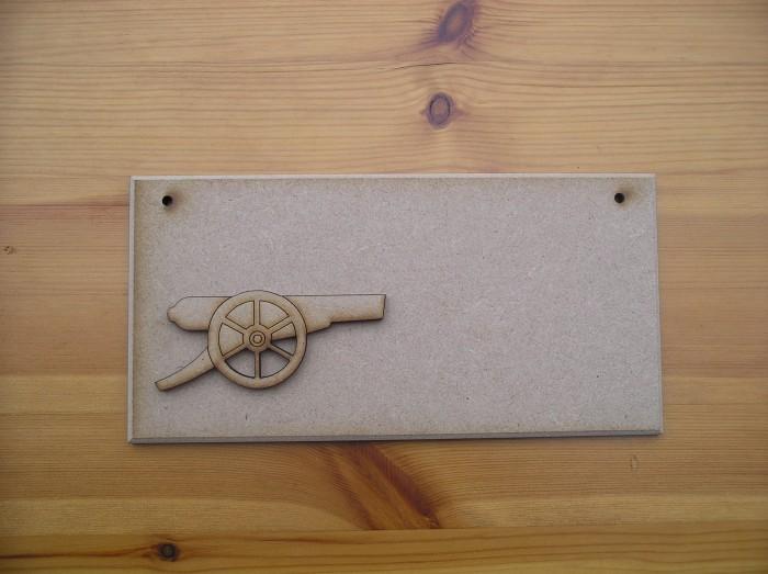 (P39) Arsenal Gun Plaque