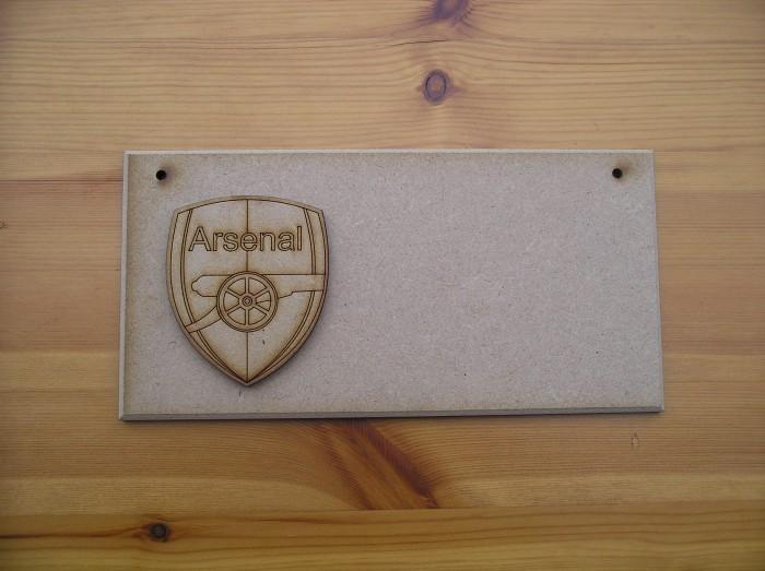 (P38) Arsenal Shield Plaque
