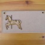 (P28) Carousel Horse Plaque