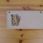 (P36) Chelsea Lion Plaque