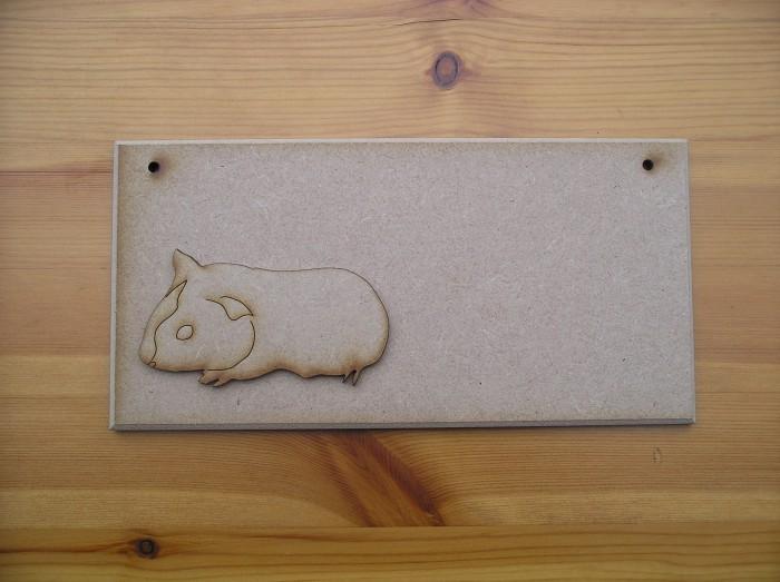 (P30) Guinea Pig Plaque