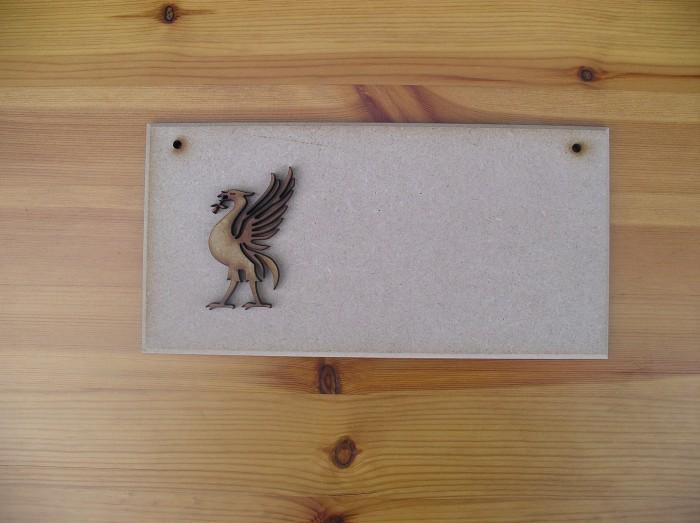 (P34) Liverpool Liver Bird Plaque
