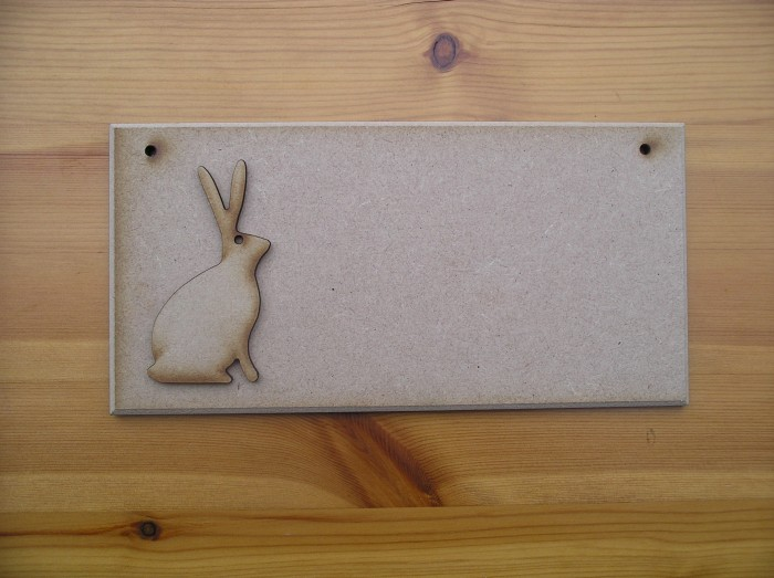 (P31) Rabbit Sitting Plaque
