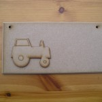 (P26) Tractor Plaque