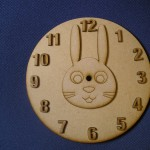 Bunny Clock Face