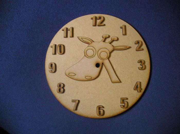Giraffe Clock Face