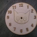 Cat Clock Face