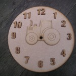 Tractor Clock Face