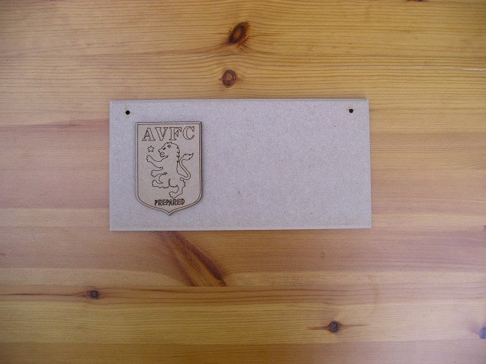 (P) Aston Villa FC Plaque