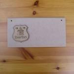(P) Everton FC Plaque