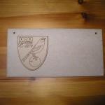 (P40) Norwich City FC Plaque
