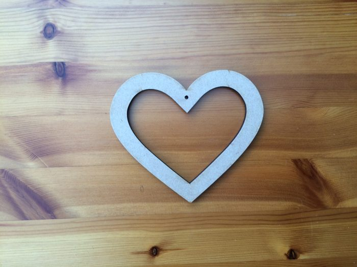 130 mm heart with Ctr out