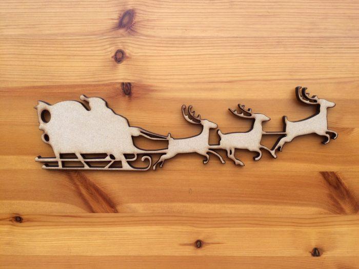Santa, Sleigh & Reindeer's