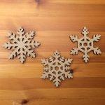 Snowflakes mixed set of 3